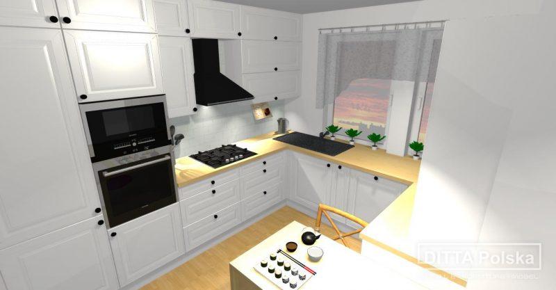 Projekt Kuchnia Skandynawska Meble Tychy